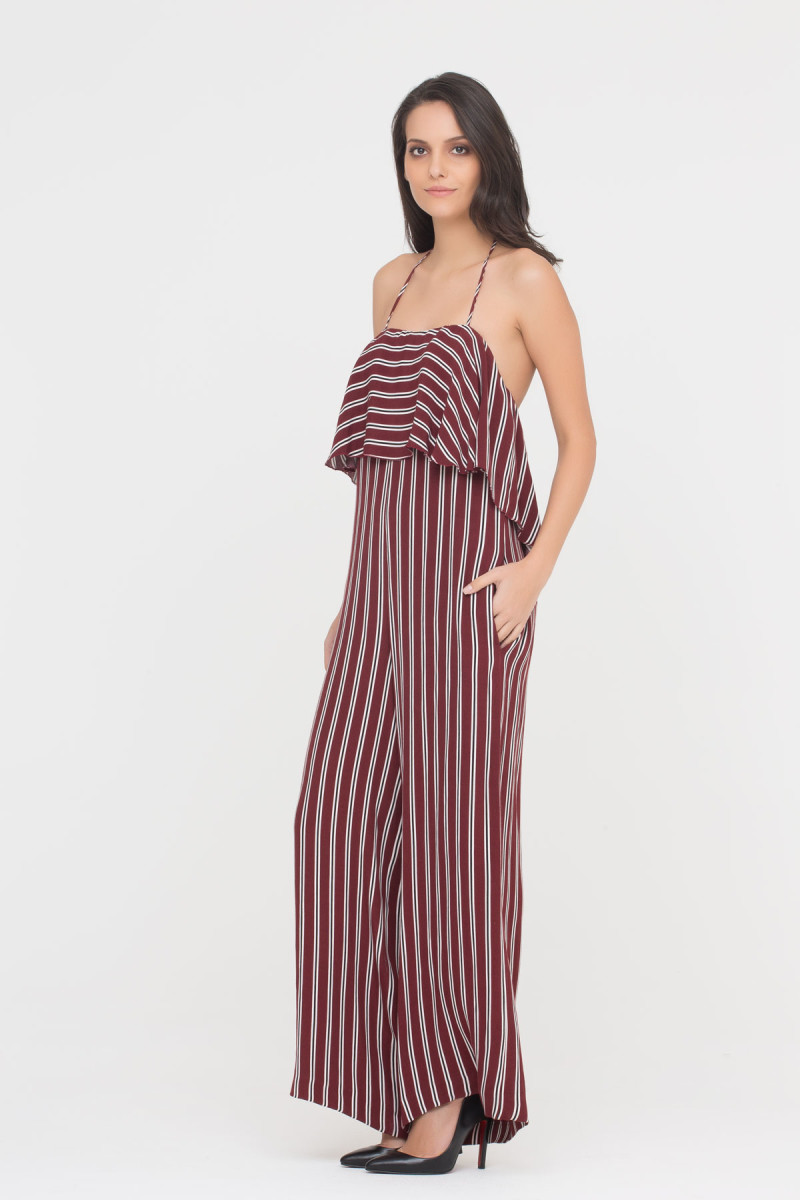 GIZIA CASUAL - Cami Jumpsuit In Stripes