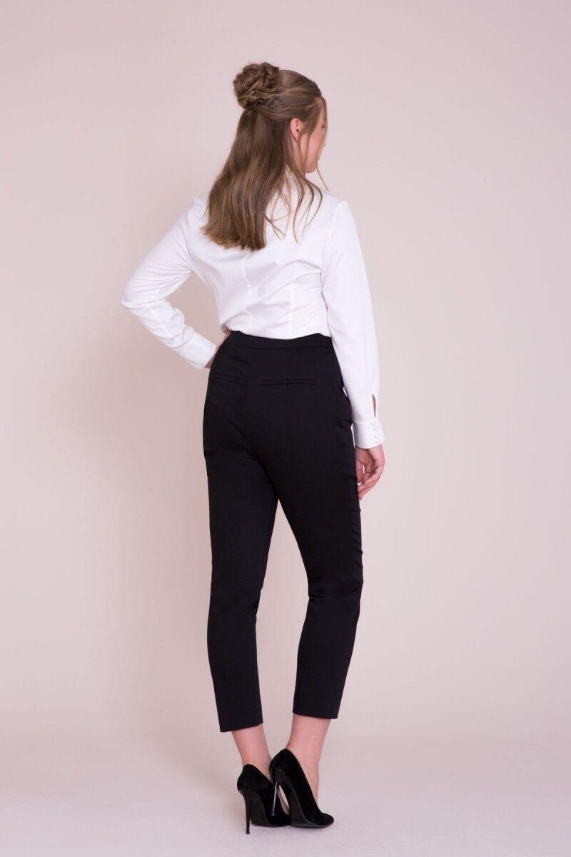 Boru Paça Siyah Pantolon