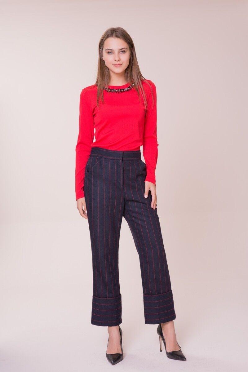 GIZIA - Kırmızı Çizgi Detaylı Pantolon