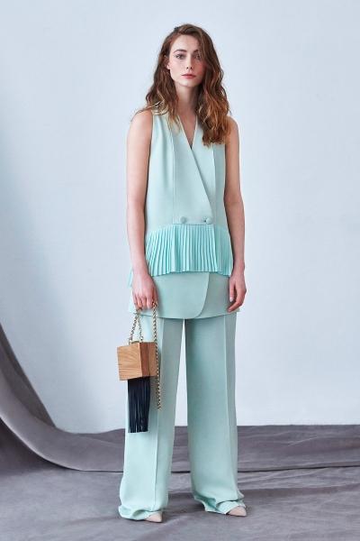 GIZIA - Mint Yeşili Bol Kesim Pantolon