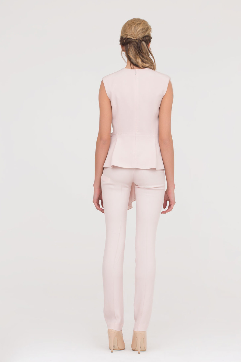 GIZIA - Skinny Trousers In Powder