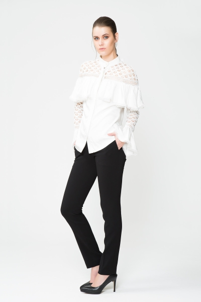 GIZIA - Boru Paça Siyah Pantolon