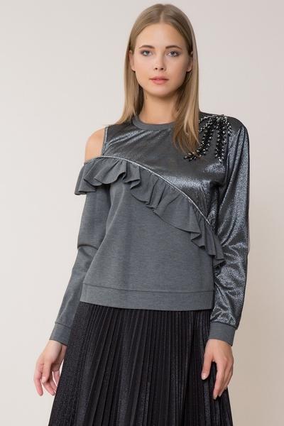 GIZIA - Omuz Detaylı Sweatshirt