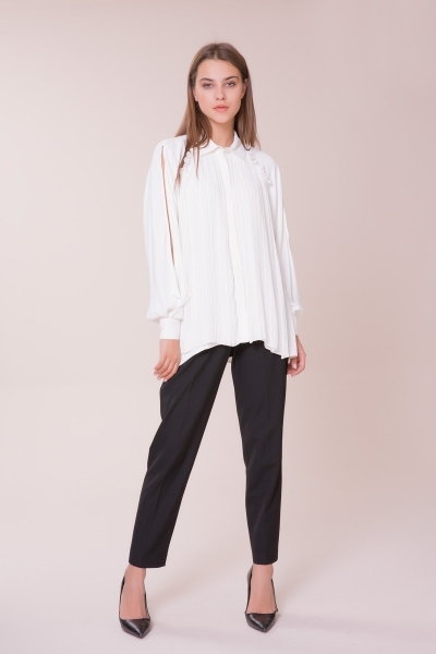 GIZIA - Pilise Detaylı Gömlek
