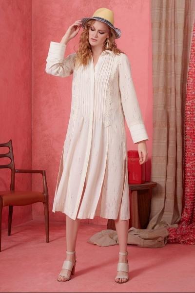 GIZIA - Güpür Detaylı Elbise