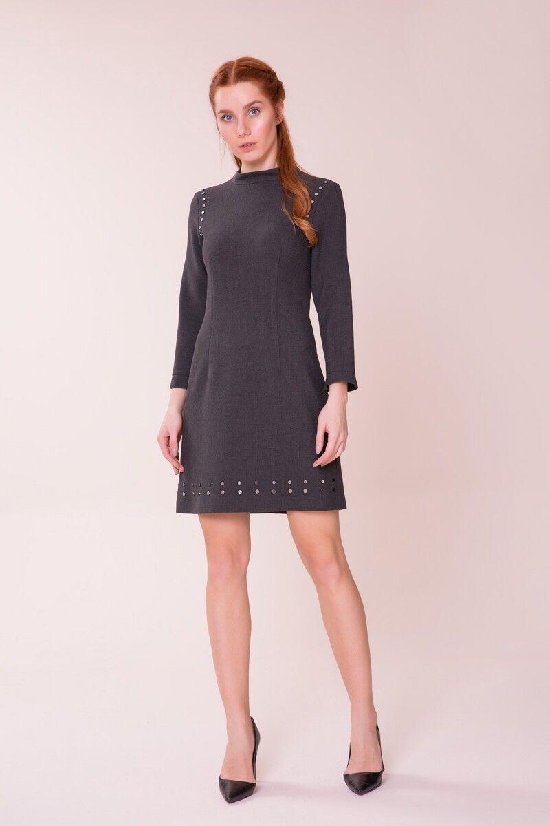 GIZIA CASUAL - Antrasit Mini Elbise