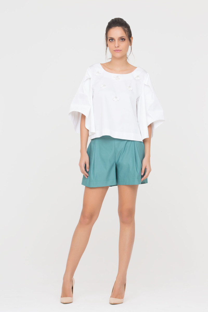 GIZIA CASUAL - Shorts In Green