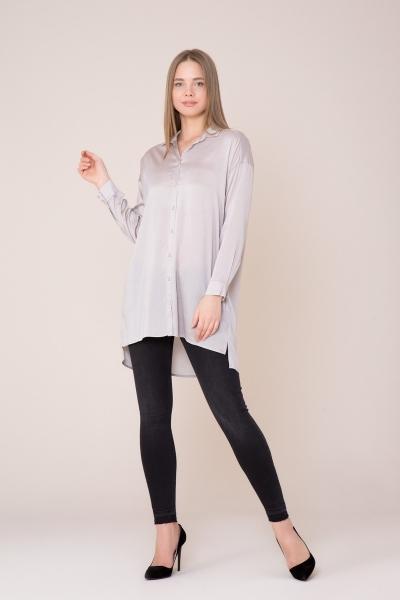 GIZIA CASUAL - Uzun Kollu Bej Gömlek