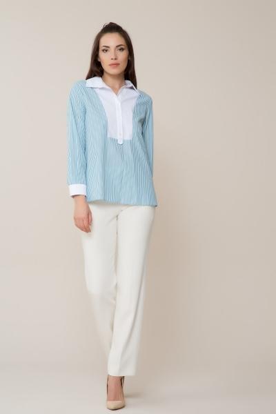 GIZIA CASUAL - Yaka ve Manşet Detaylı Gömlek