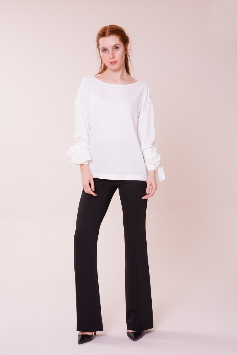 GIZIA CASUAL - Beyaz Bluz