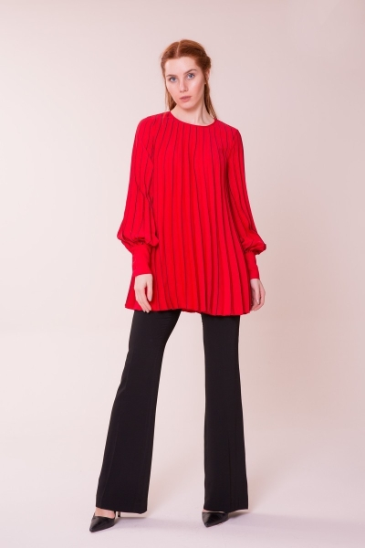 GIZIA CASUAL - Kırmızı Bluz