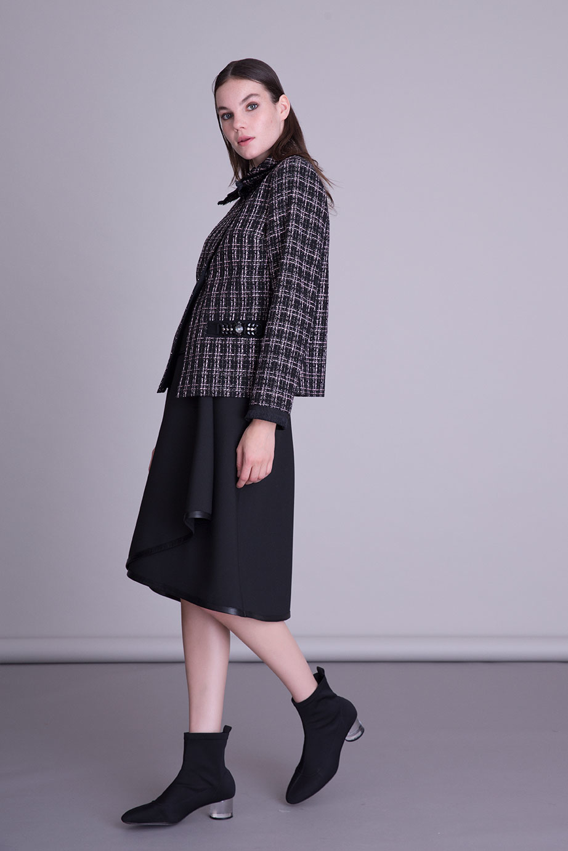 Cepleri Taş İşlemeli Ceket