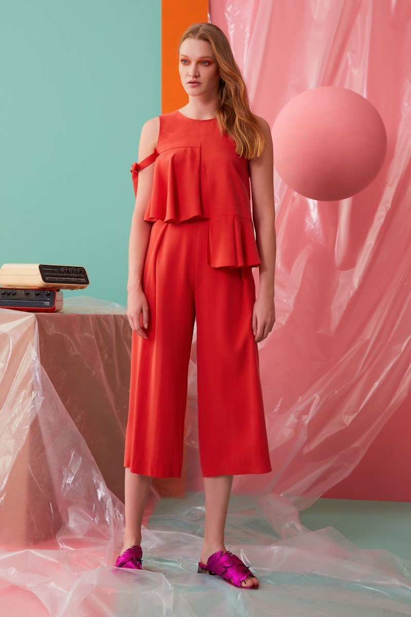 Coral Colored Pants