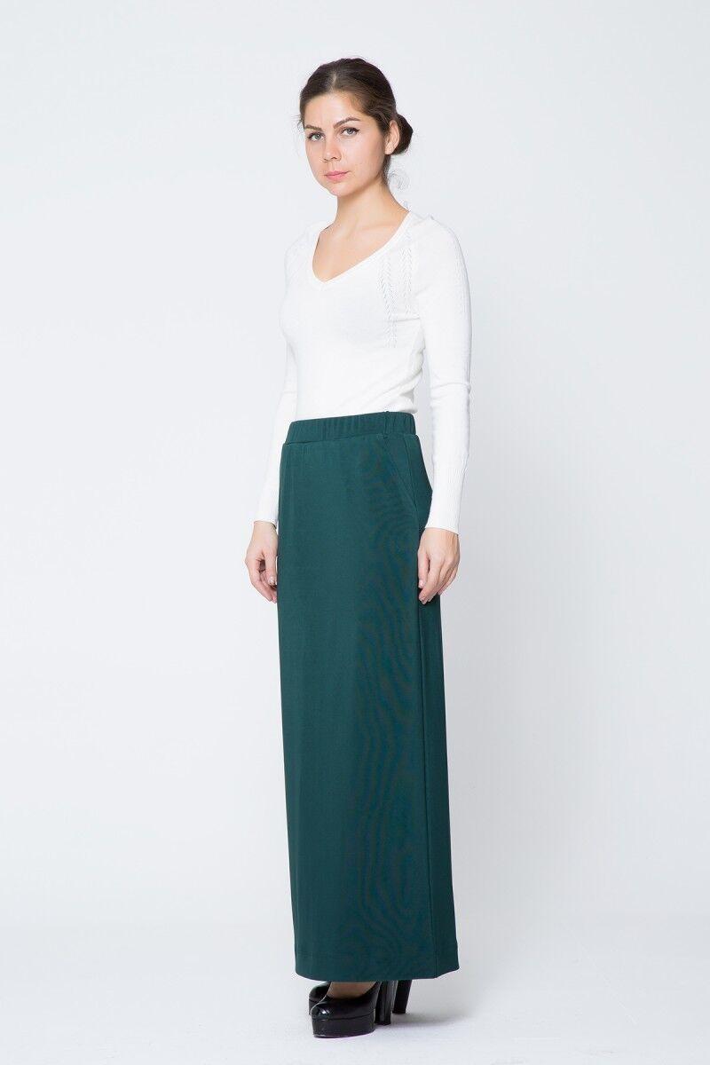 GIZIA CASUAL - Yeşil Uzun Etek