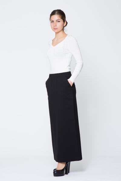 GIZIA CASUAL - Siyah Uzun Etek