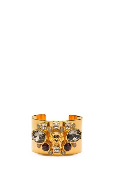 GIZIA - Swarovski Taşlı Gold Bileklik