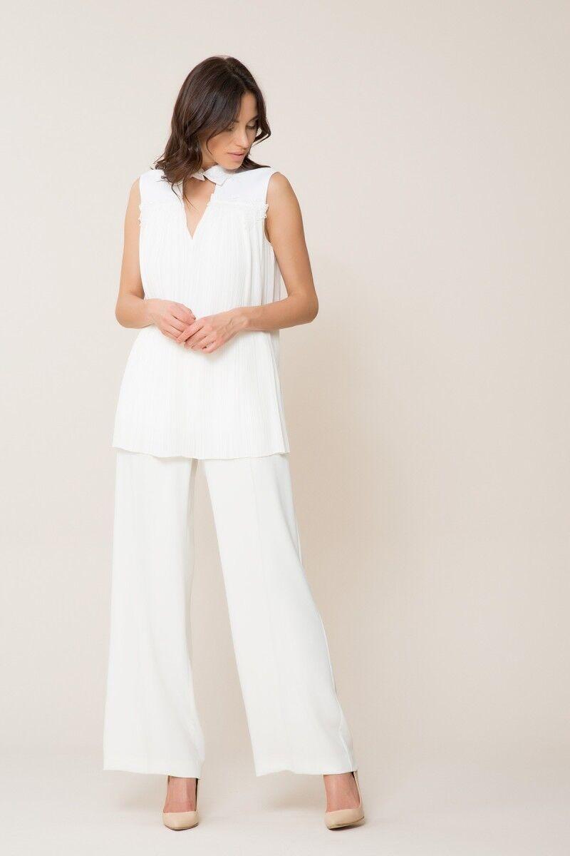 Beyaz Pilise Gömlek