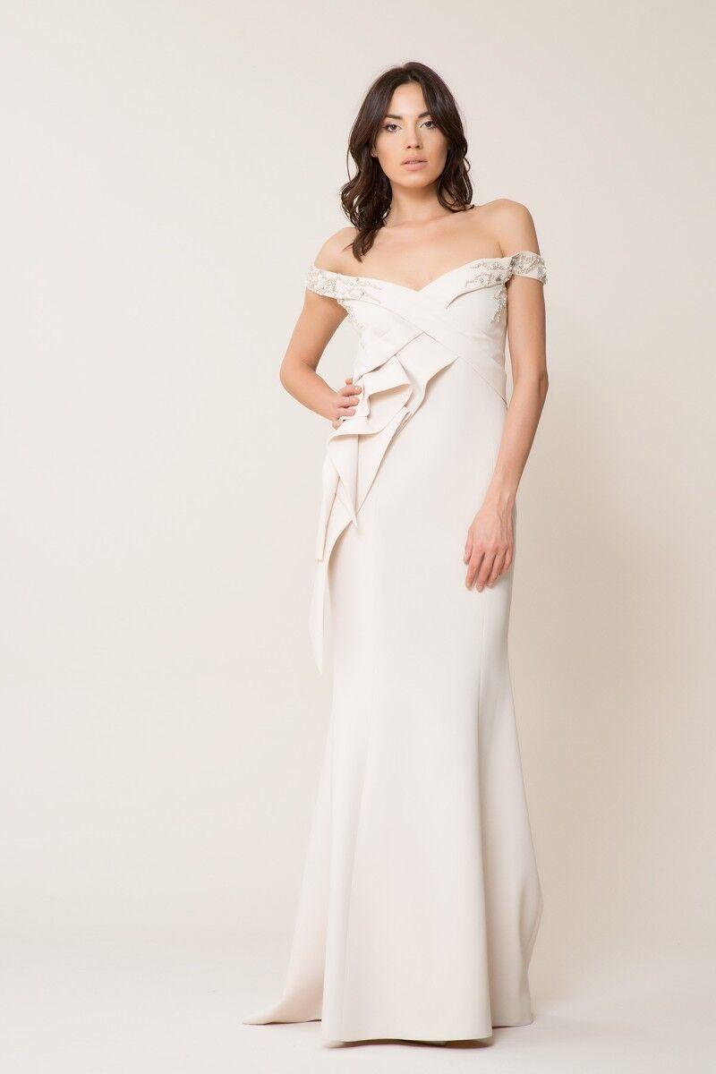 GIZIA - Düşük Yaka Uzun Elbise