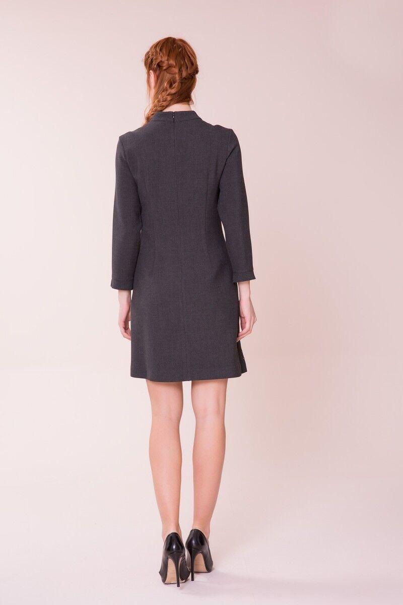 Antrasit Mini Elbise