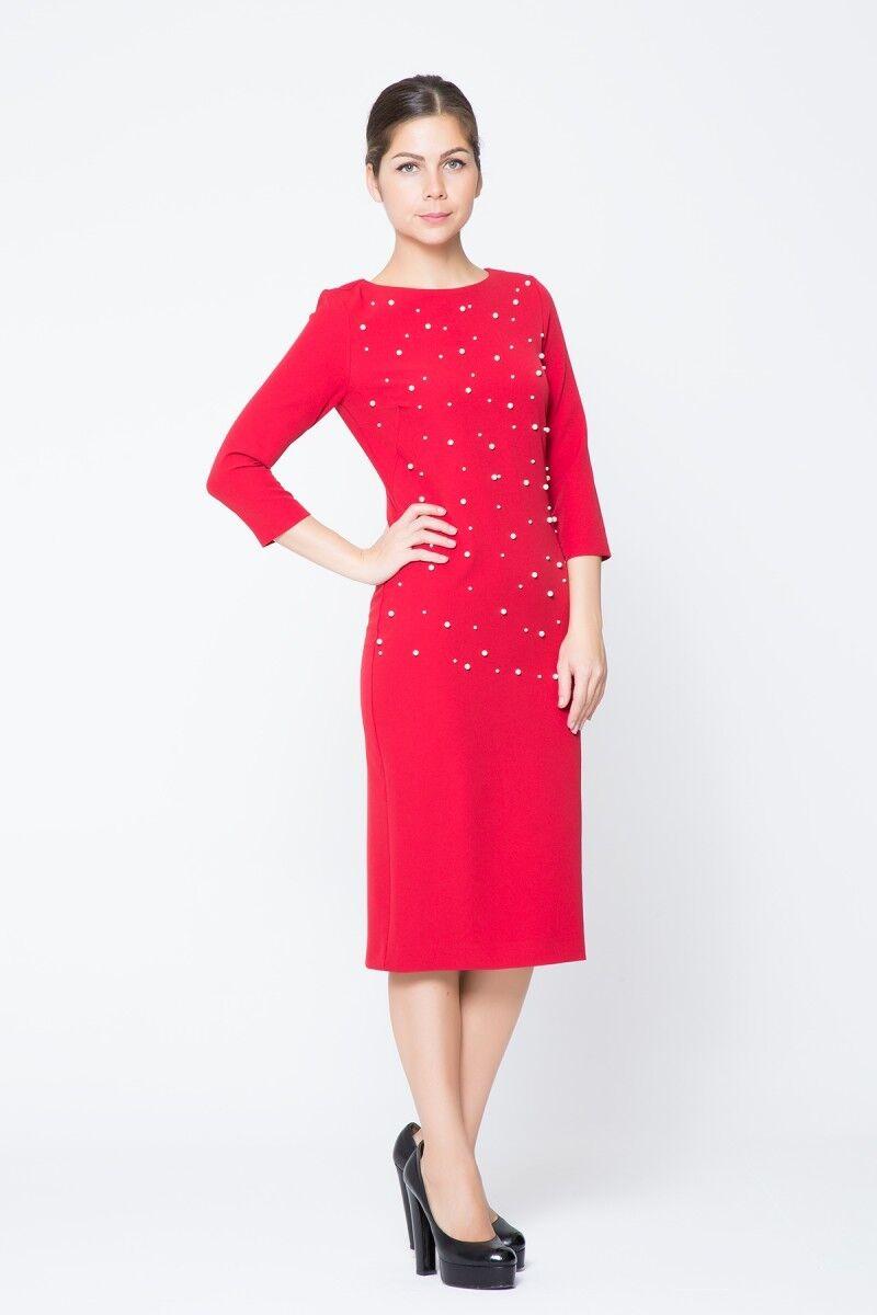 GIZIA CASUAL - İnci Detaylı Mini Elbise
