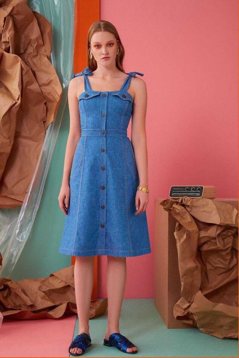Indigo Colored Denim Dress