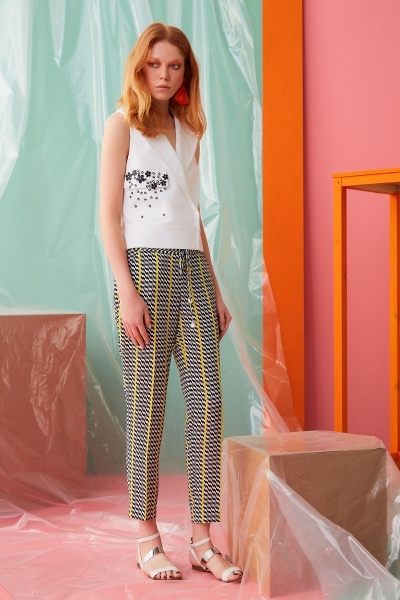GIZIA CASUAL - İp Bağcık Detaylı Pantolon