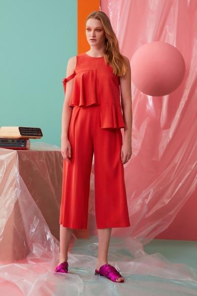 GIZIA CASUAL - Mercan Rengi Pantolon