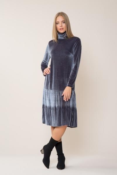 GIZIA CASUAL - Kadife Midi Elbise