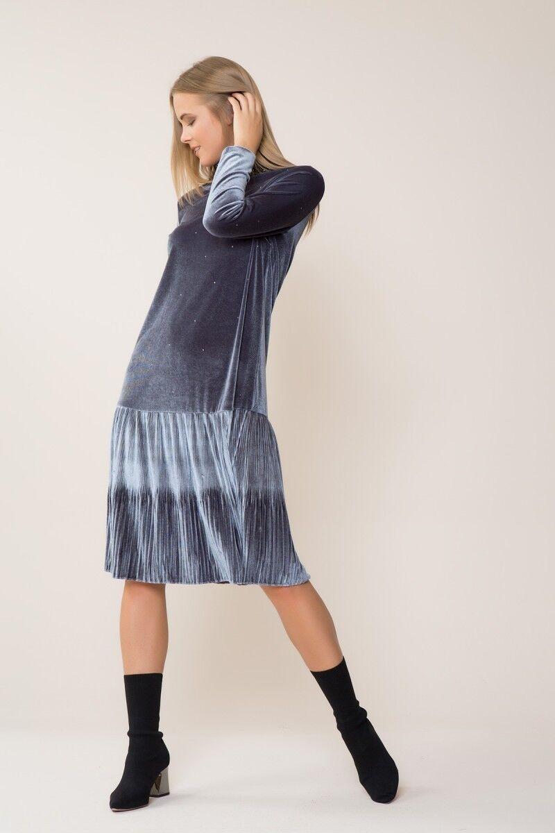 Kadife Midi Elbise