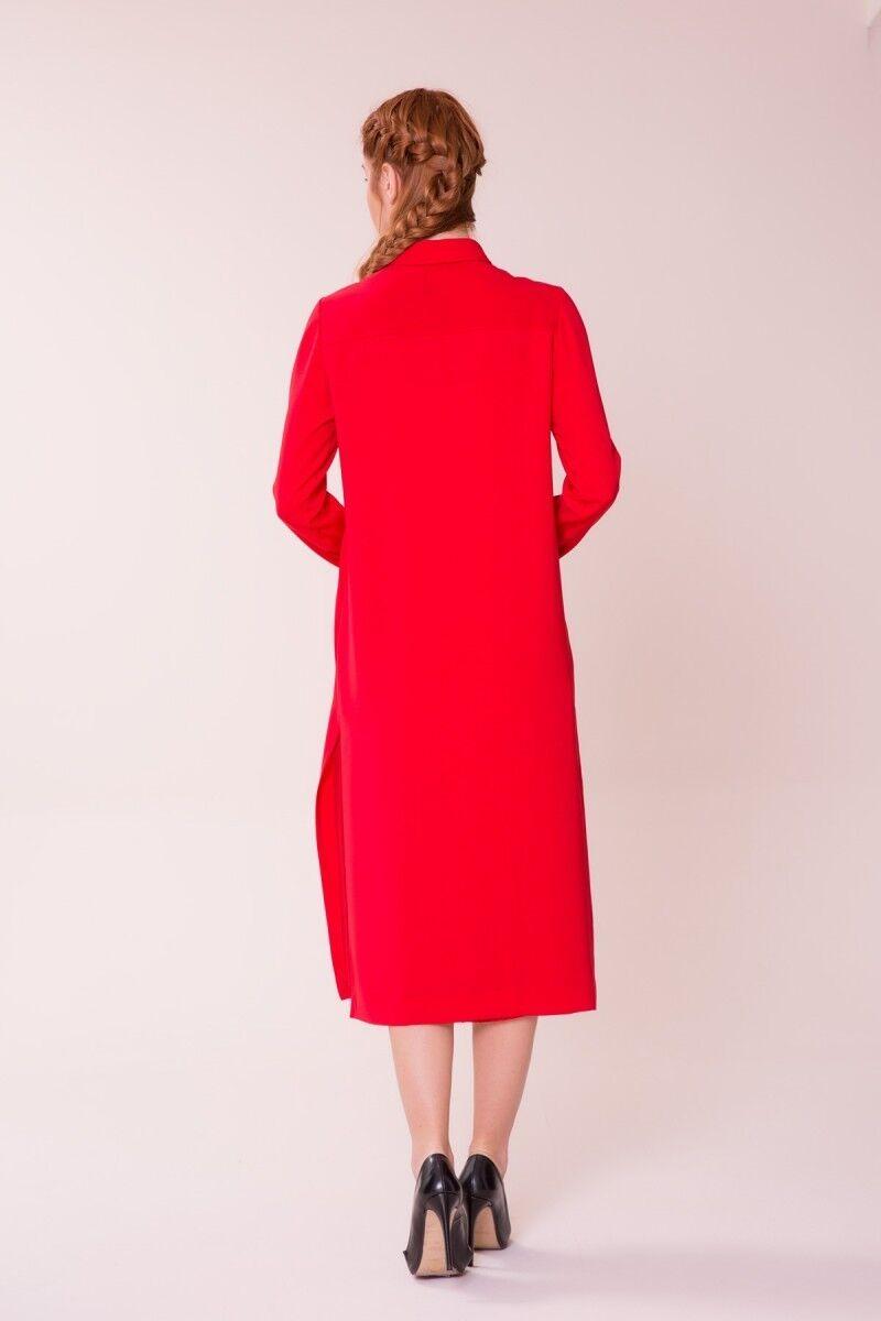 Kırmızı Midi Elbise