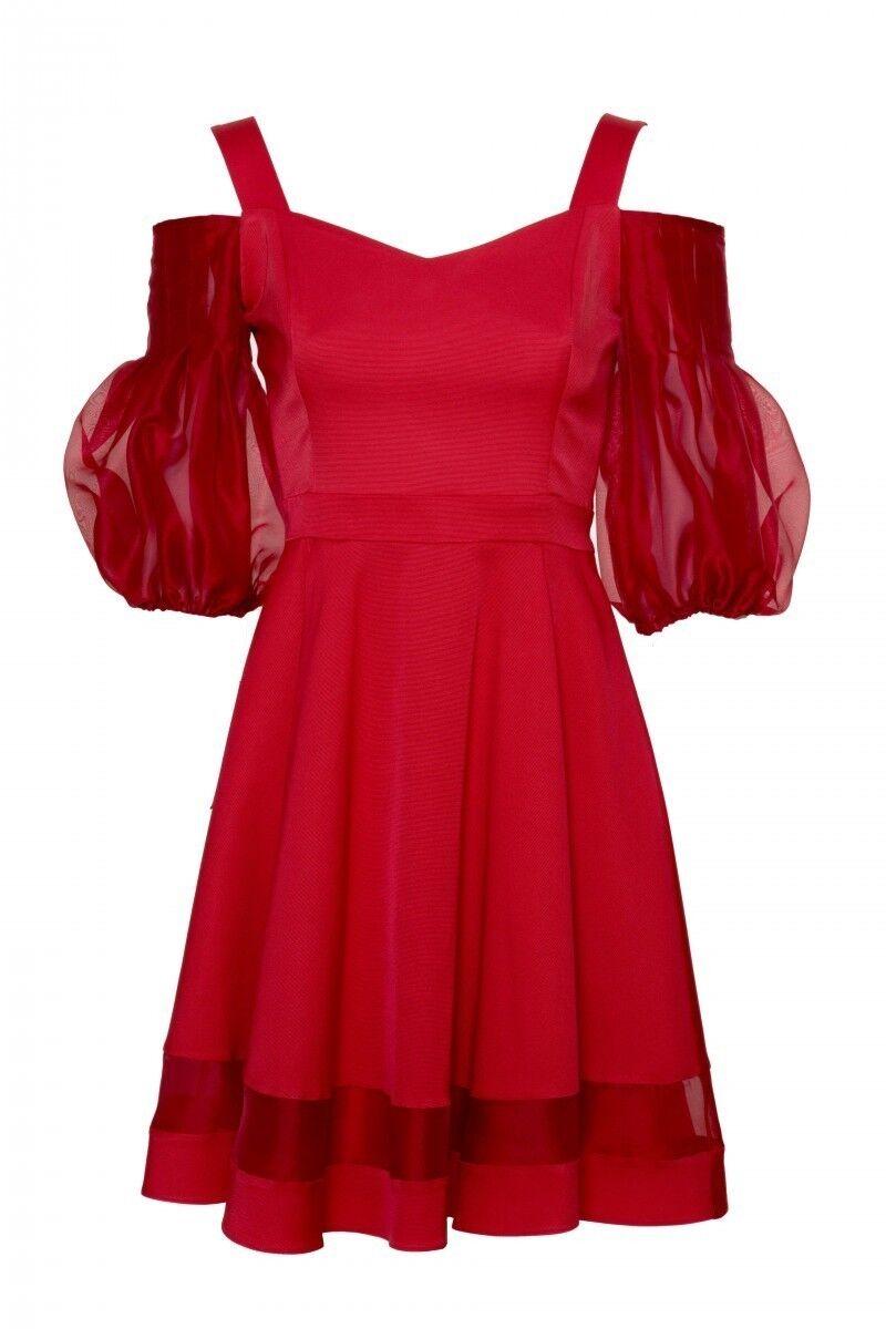 GIZIA - Kırmızı Mini Elbise
