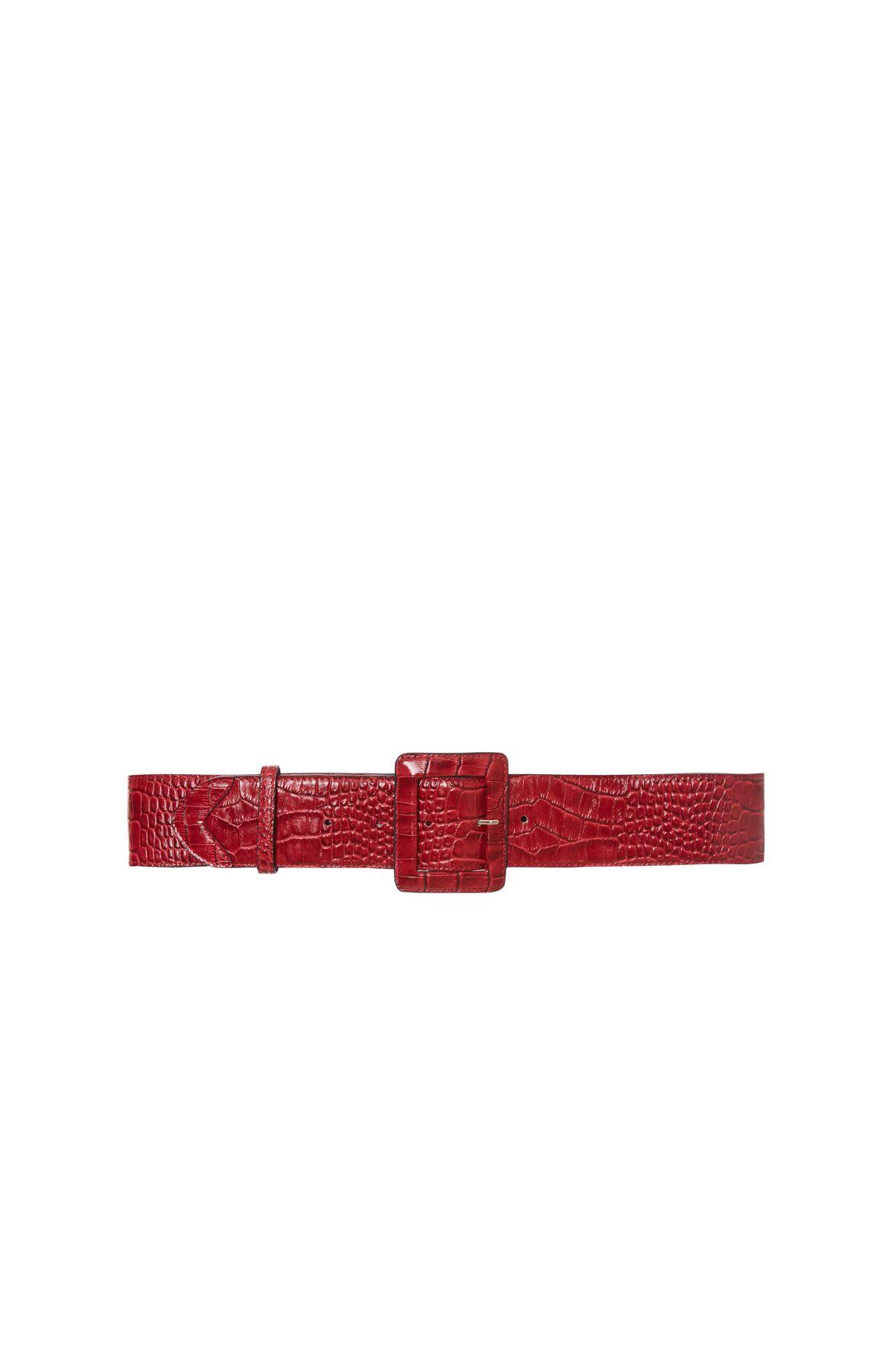 Kırmızı Deri Kemer