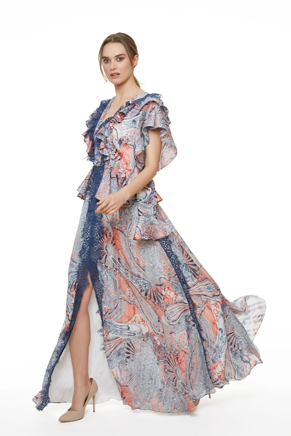 Lace Chiffon Dresses