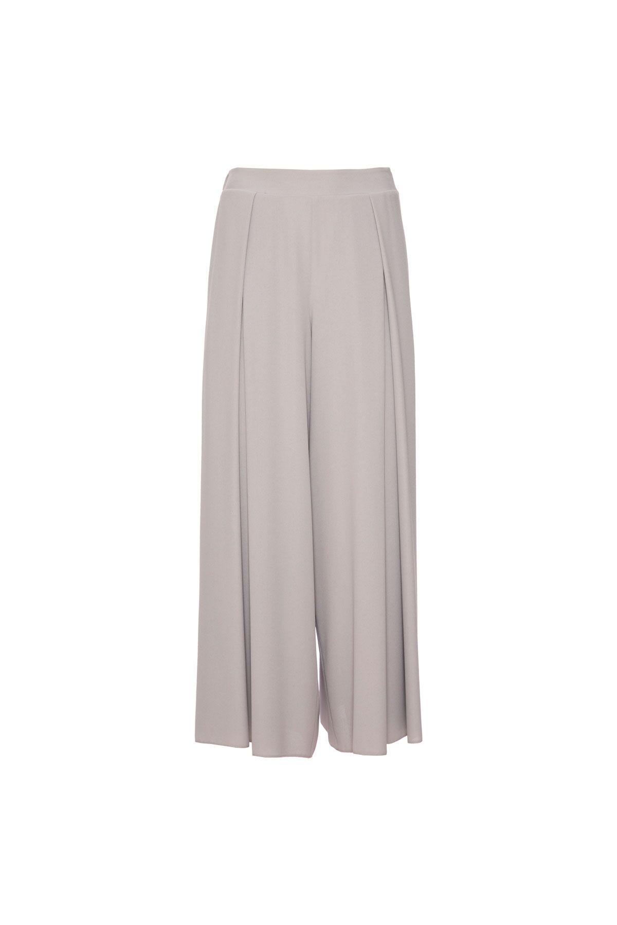 Pliseli Culotte Pantolon