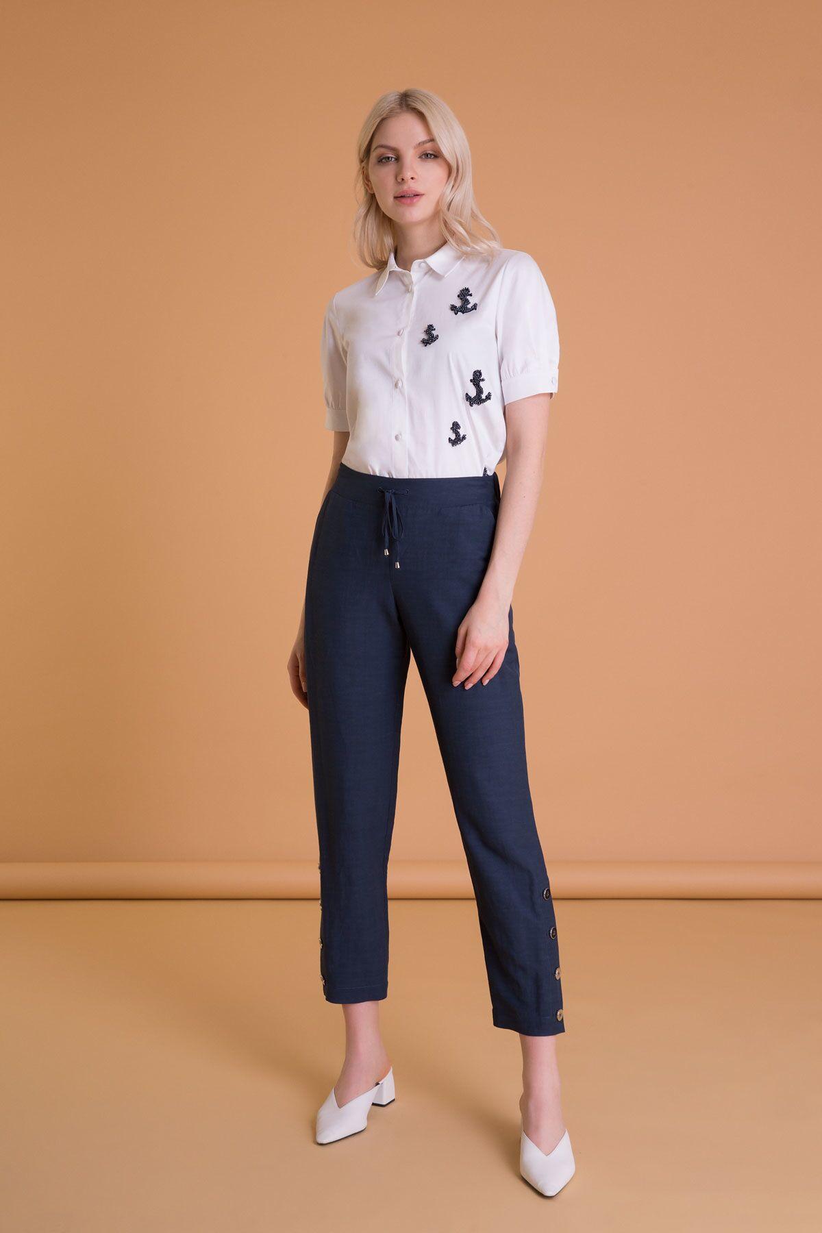 Düz Renk Havuç Pantolon