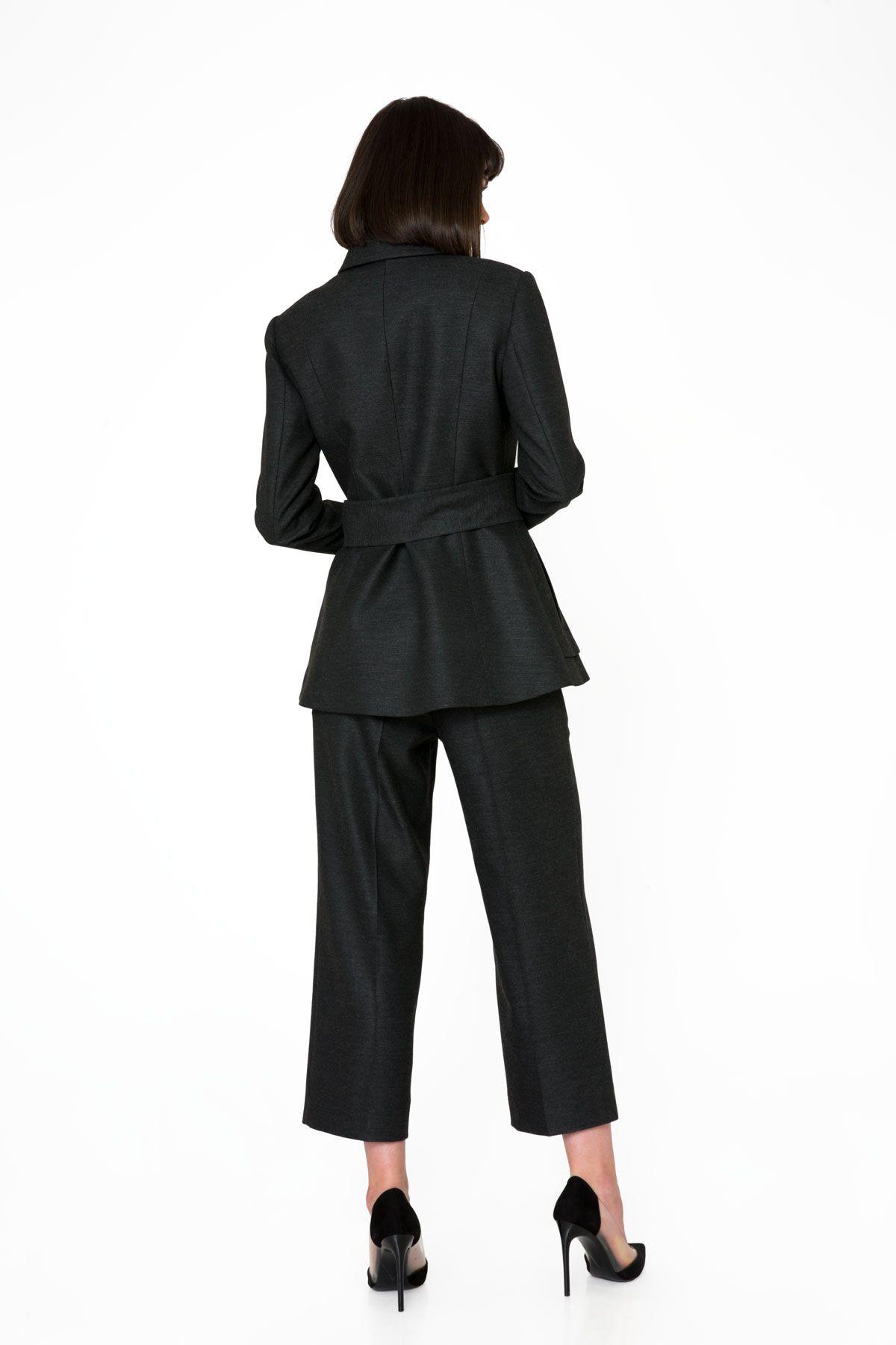 Siyah Bermuda Pantolon