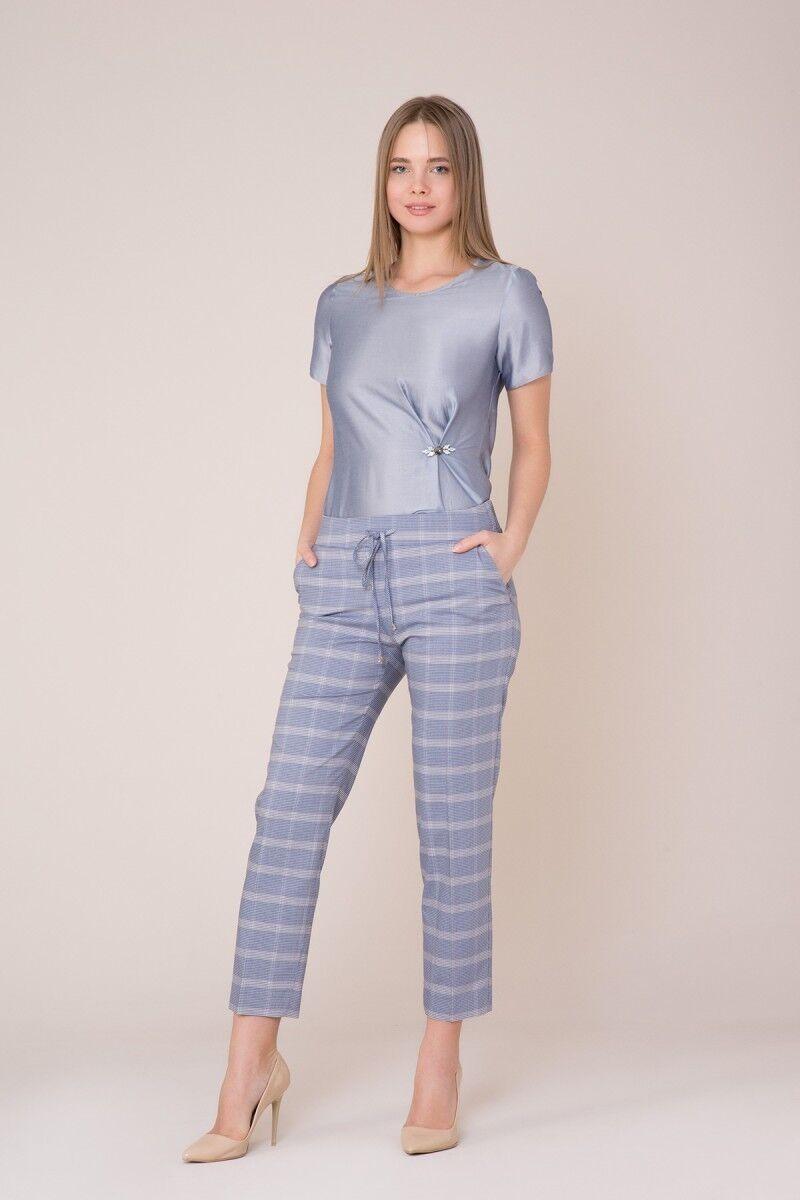Mavi Ekose Pantolon
