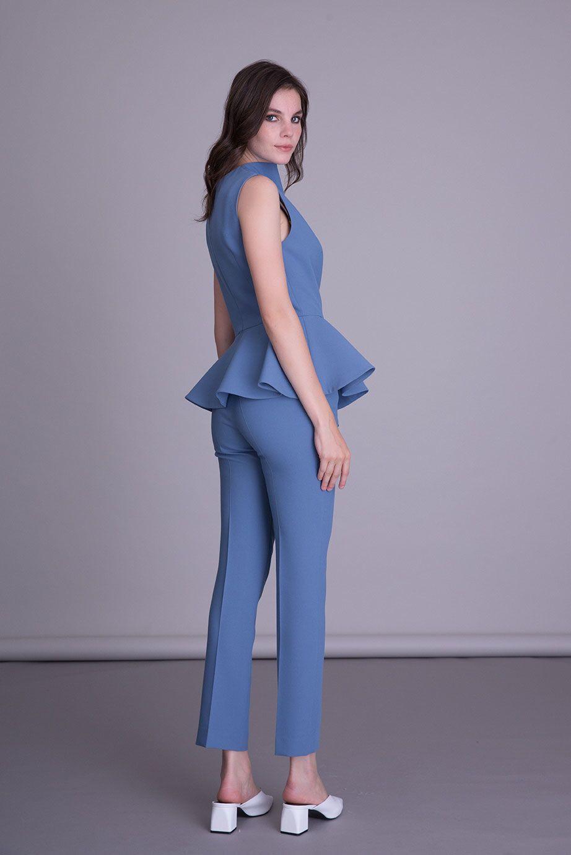Mavi Kumaş Pantolon