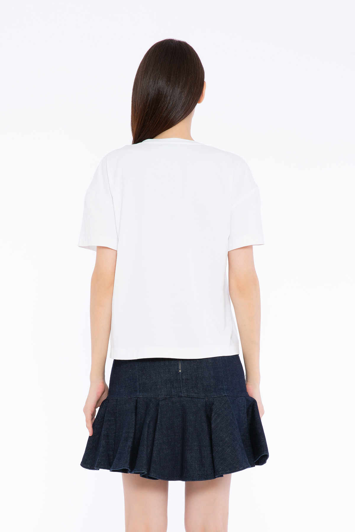 Nakış Detaylı Basic Tshirt