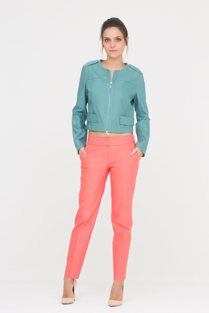 GIZIA CASUAL - Nar Çiçeği Rengi Pantolon