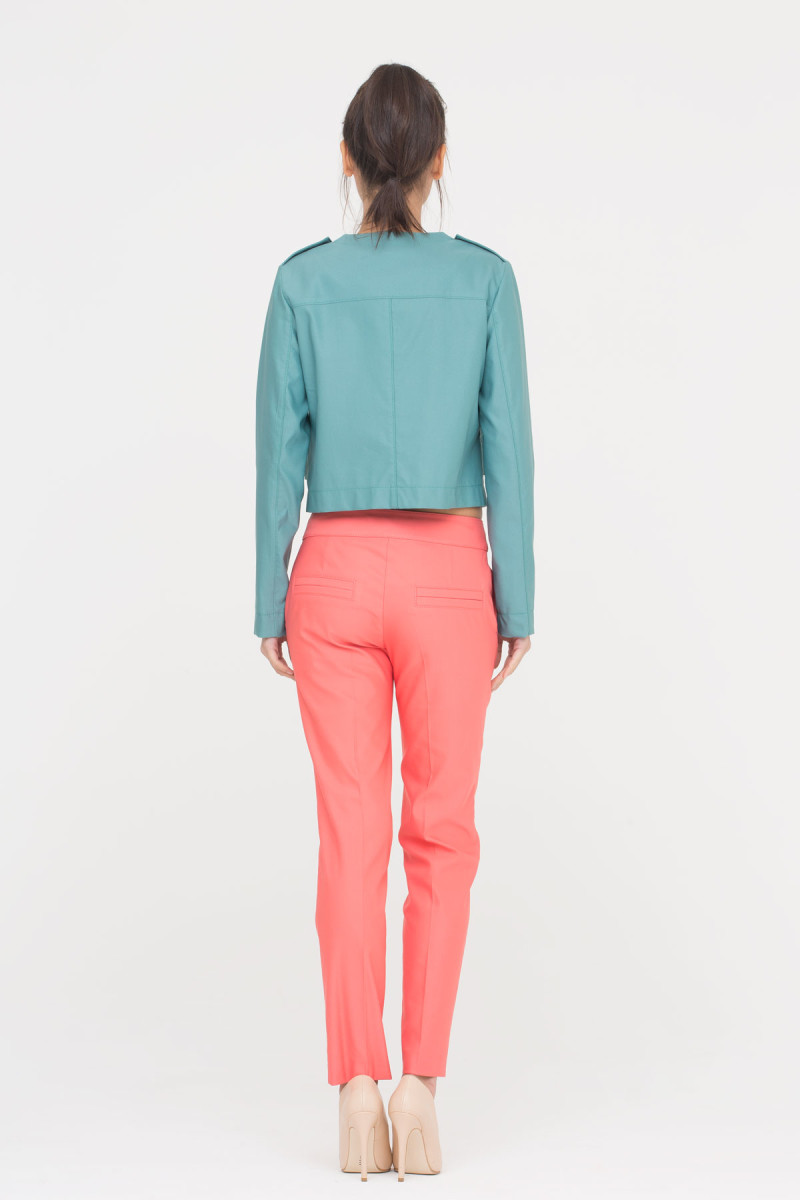 Nar Çiçeği Rengi Pantolon