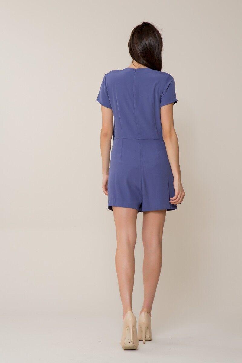 Purple Shorts Overalls
