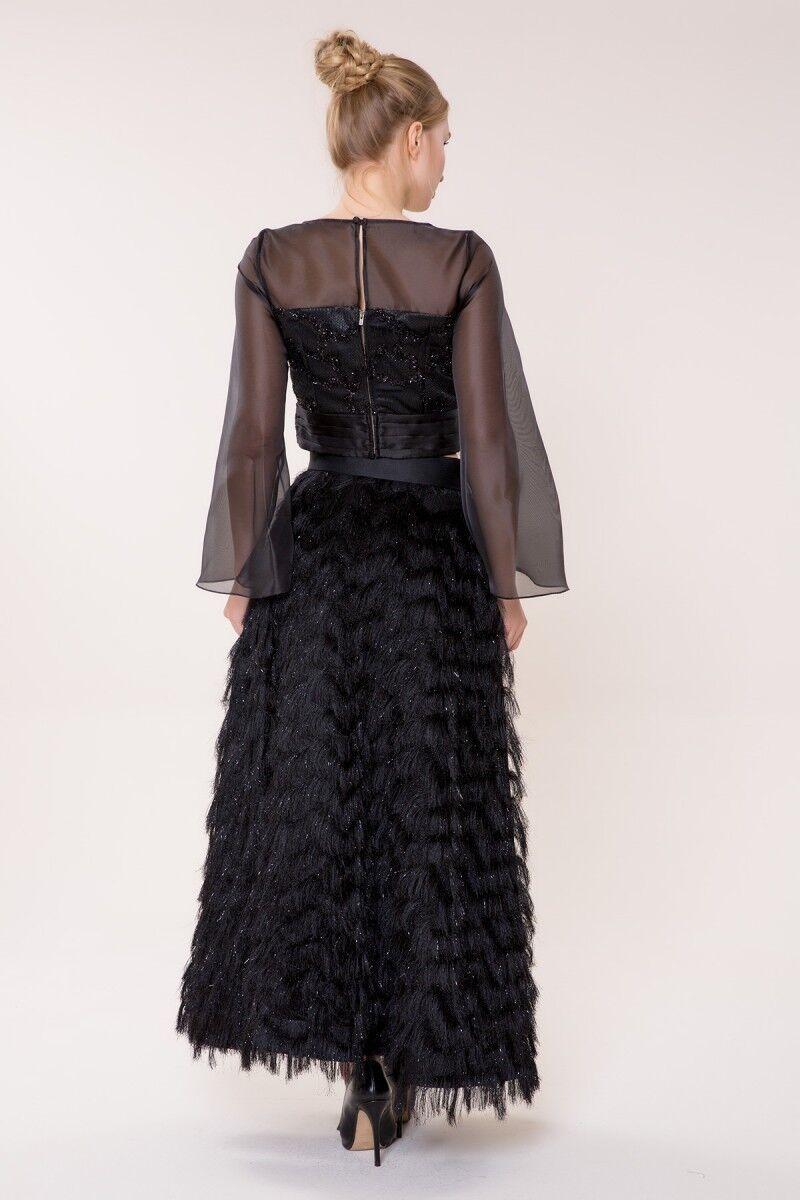 Siyah Uzun Etek