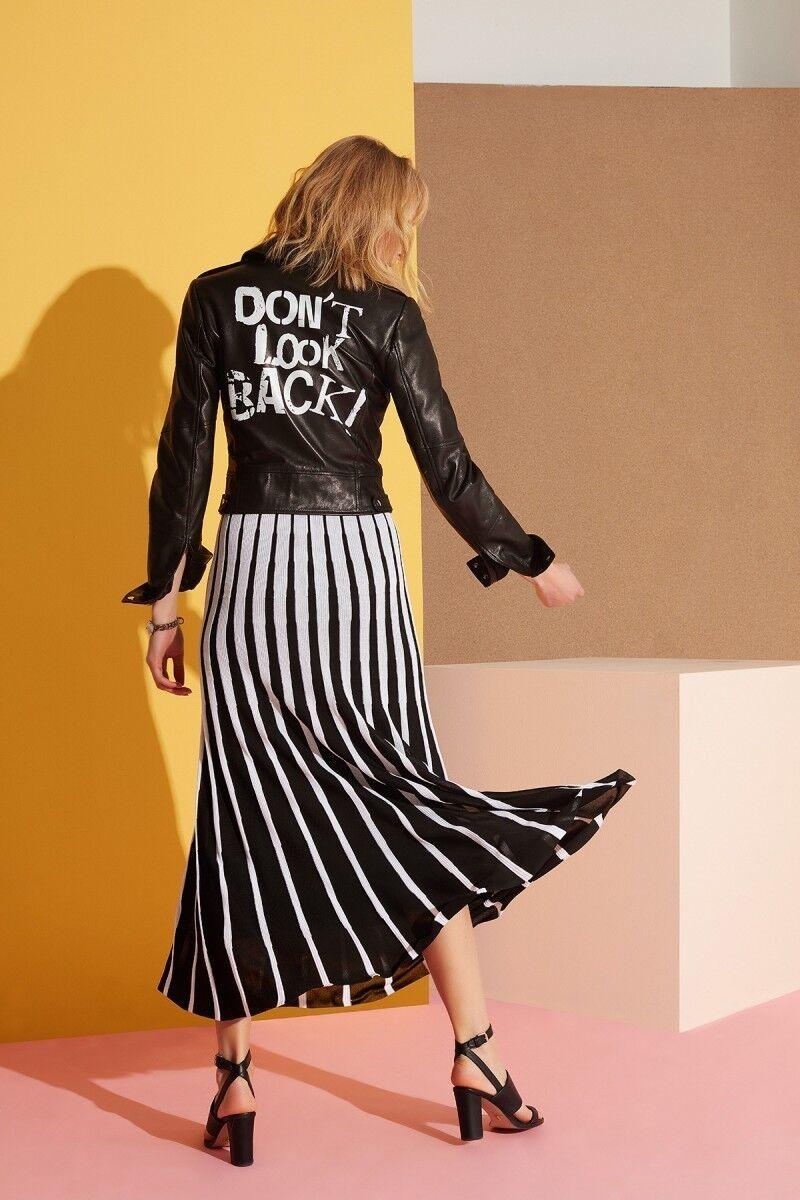 Stripe Detailed Knitwear Skirt