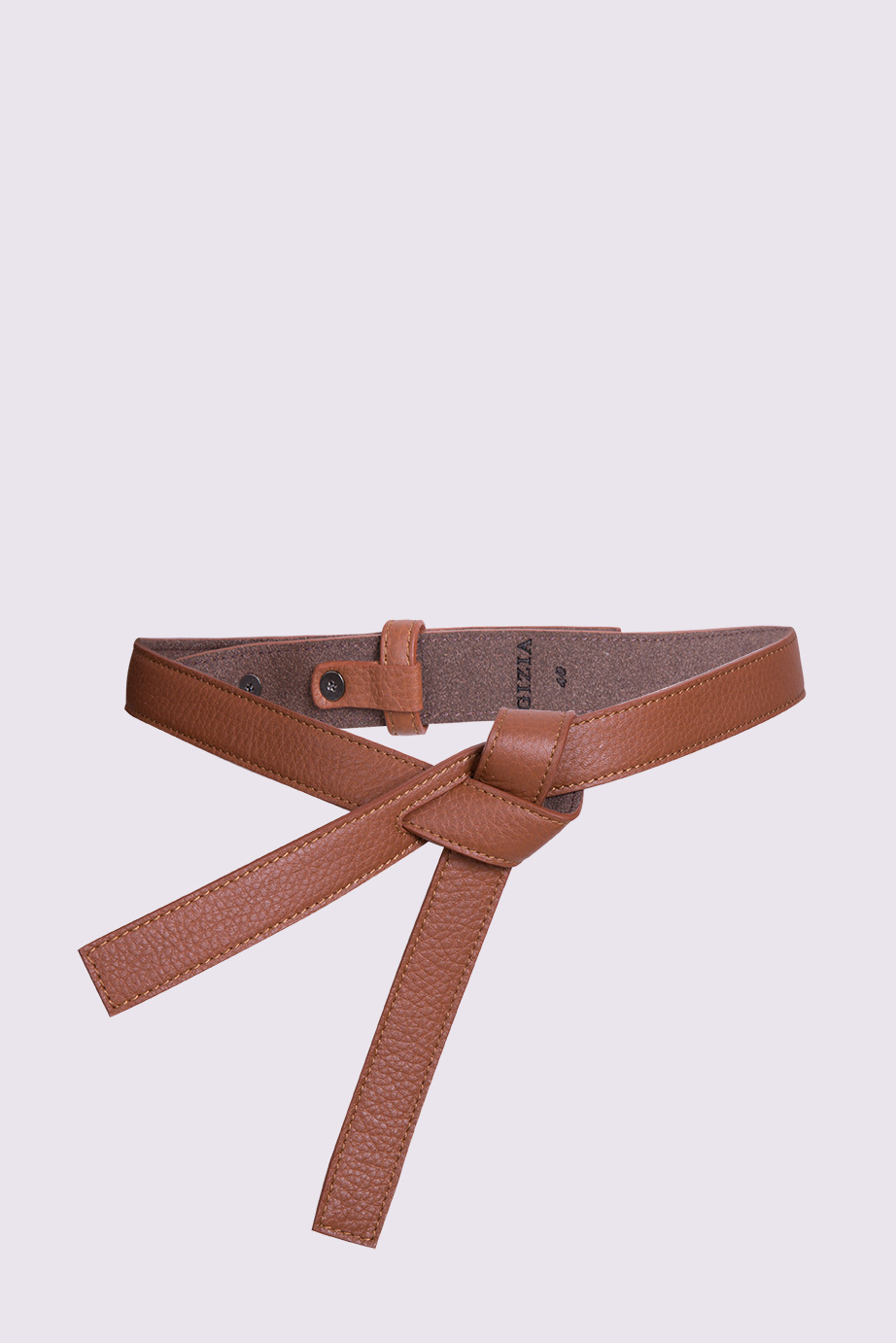 Tobacco Color Leather Belt