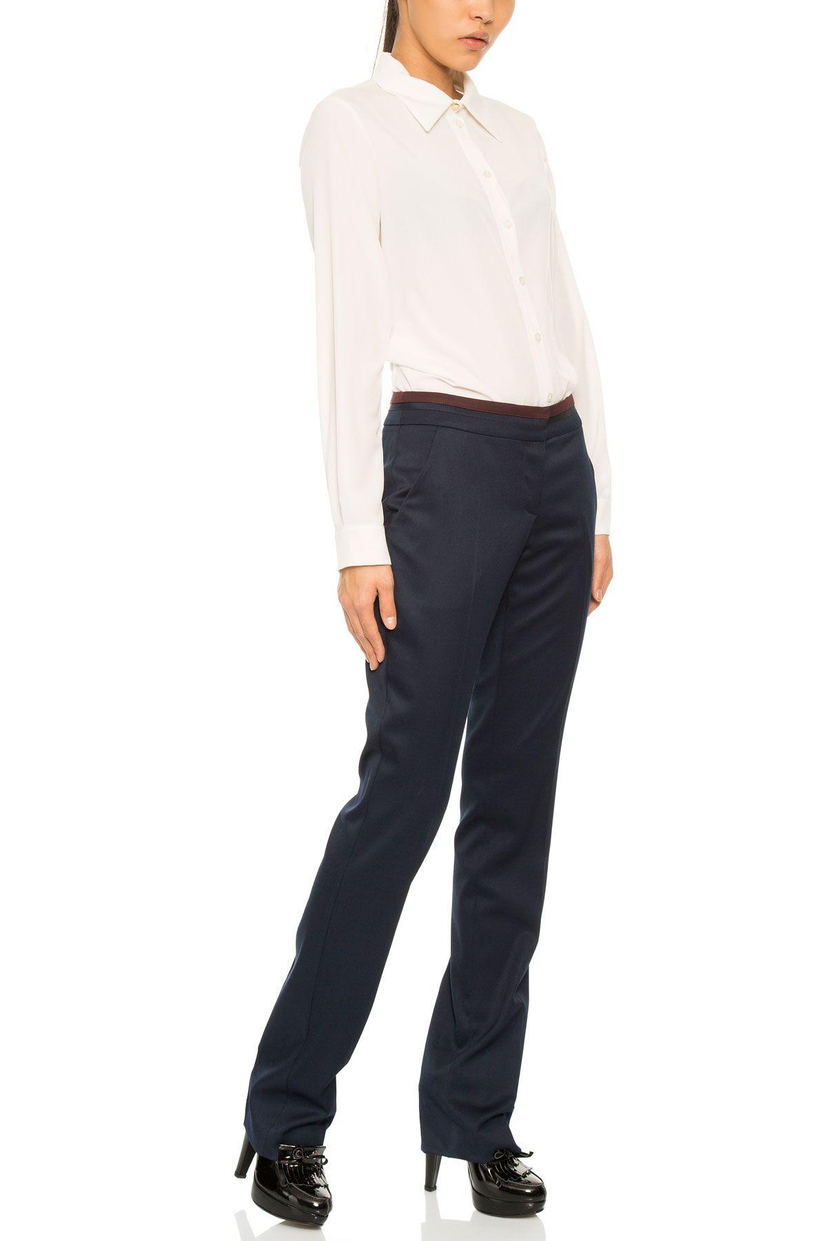 Trousers In Dark Blue