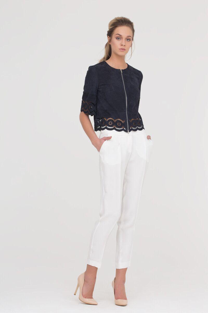 Trousers In Ecru