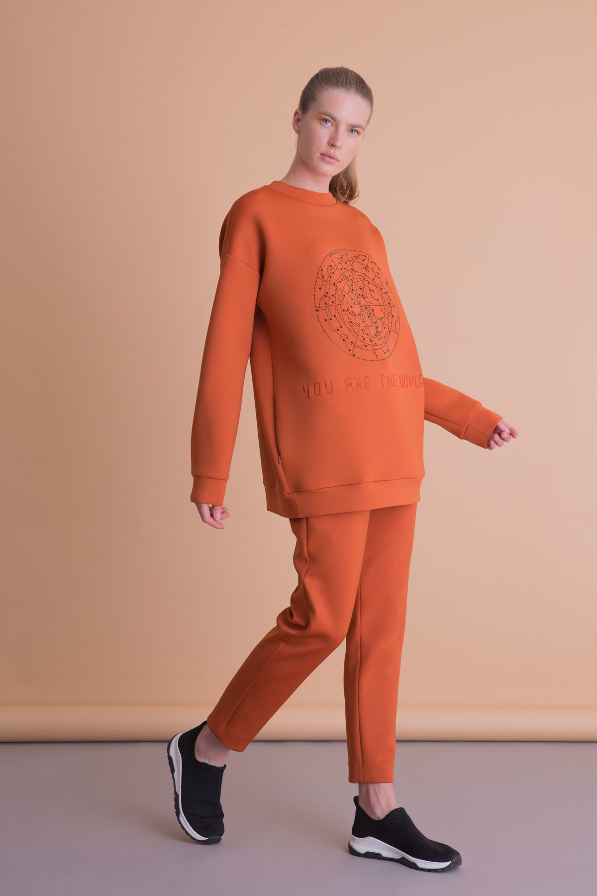 Turuncu Spor Pantolon