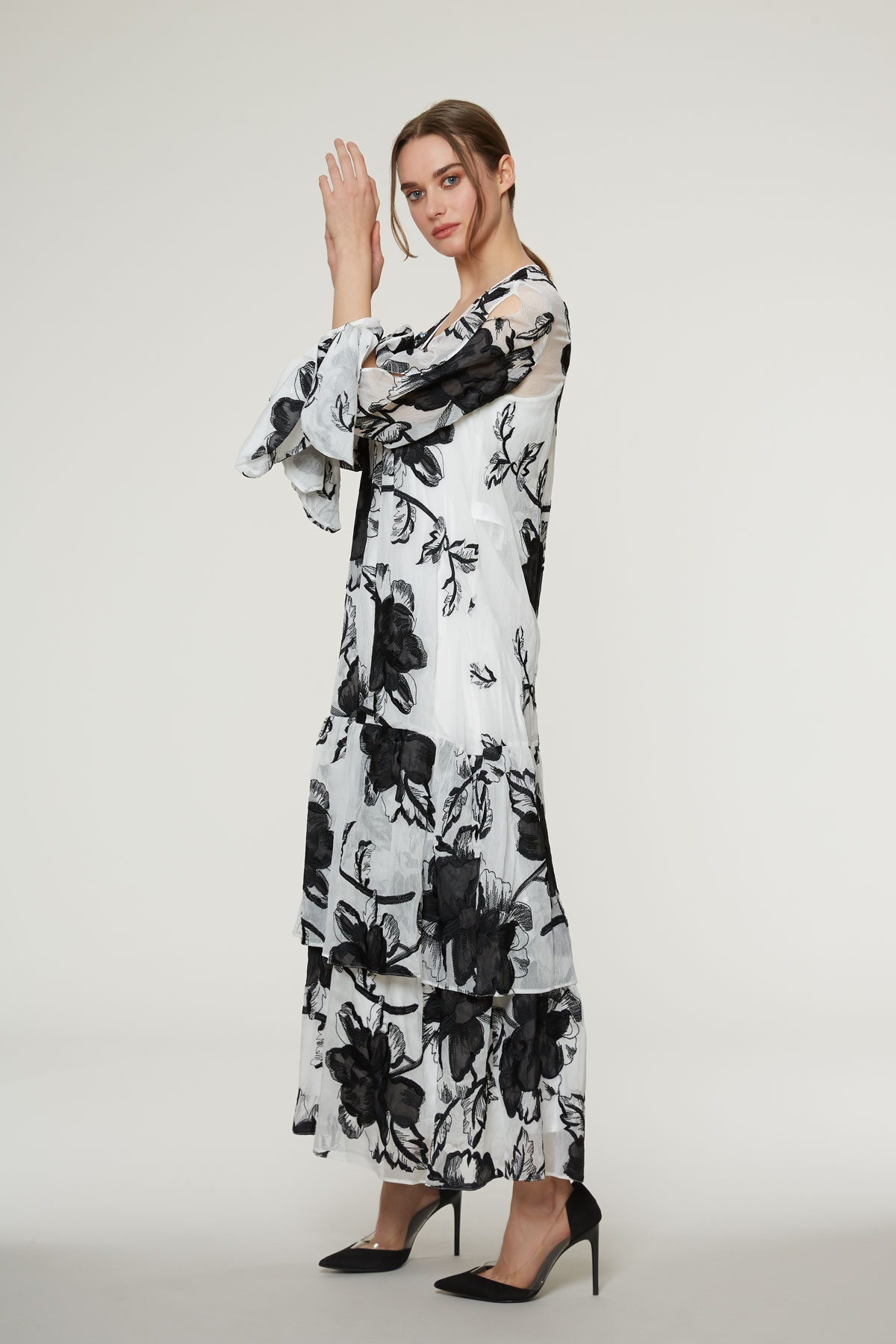 V Yaka, Bilek Boy Elbise