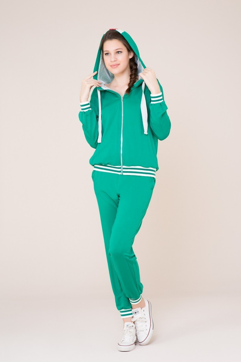 Yeşil Spor Jogger Pantolon